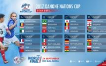 Finale Mondiale de la Danone Nations Cup 2017 ! Du 22 au 24 septembre 2017 à New York