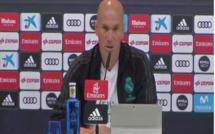 Zidane parle des problèmes offensifs du Real Madrid