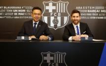 OFFICIEL : Lionel Messi a prolongé son contrat avec le Barça jusqu'en 2021