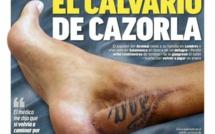 Arsenal : la poisse poursuit Cazorla !