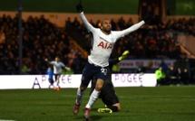 Le premier but de Lucas Moura sous les couleurs de Tottenham