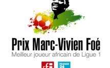 Prix Marc-Vivien Foé 2018 : les 13 finalistes