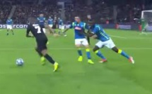 PSG - Naples : Koulibaly pousse Mario Rui pour défendre sur Kylian Mbappe (vidéo)