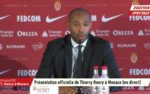 AS Monaco : le discours alarmiste de Thierry Henry