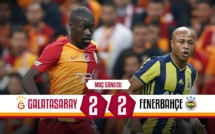 Le bouillant Galatasaray - Fenerbahçe a dégénéré