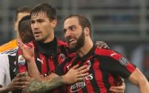 Milan AC - Juventus : Higuain pète un plomb contre Cristiano Ronaldo