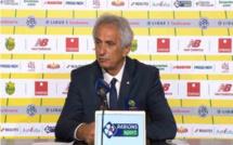 FC Nantes - Angers : Halilhodzic avait prévenu ses joueurs, mais garde le positif