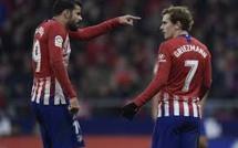 Atlético de Madrid : grosse tension entre Diego Costa et Antoine Griezmann