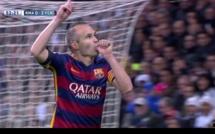 Andrés Iniesta tacle violemment José Mourinho