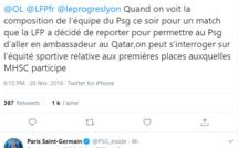 """OL : le PSG """"tente"""" de fermer le caquet à Aulas"""