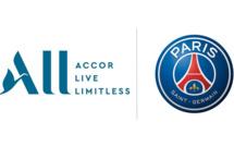 Accor nouveau sponsor maillot du PSG
