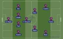 Barça - OL : les compos probables
