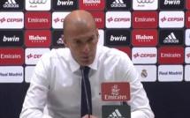 Real Madrid : la grosse colère de Zidane