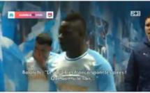 OM - OL : match pourri de Balotelli qui s'en prend aux arbitres français
