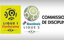 Commission de Discipline de la LFP : les décisions du 15 mai