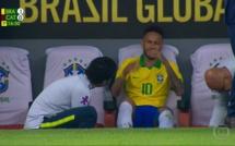 Rupture du ligament de la cheville - Neymar forfait pour la Copa America