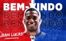 OFFICIEL : Jean Lucas rejoint l'OL
