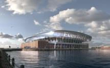 Le nouveau stade d'Everton prévu pour 2023