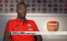 Arsenal, LOSC : critiqué, Nicolas Pépé dispose d'un soutien de poids