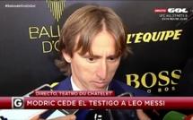 Real Madrid, Barça, Juventus : Modric félicite Messi et allume Ronaldo !