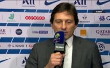 Paris SG : Leonardo tape du poing sur la table après PSG - OL