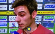FC Metz - OL : Fabien Centonze (ex RC Lens) incendie Lyon à la mi-temps !