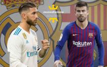 Real Madrid - Barça : Sergio Ramos tacle le FC Barcelone et Piqué !