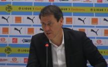 LOSC - OL : Rudi Garcia veut une victoire et met la pression sur ses joueurs