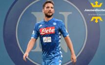 Mercato - Naples : l'Inter en course pour Mertens