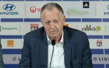 OL : Aulas balance de gros sous entendus concernant l'ASSE, Lorient et le RC Lens