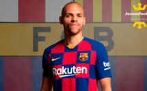 FC Barcelone - Mercato : Braithwaite pisté par un autre club de Liga ?