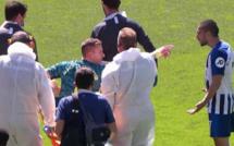 Brighton - Arsenal : Maupay s'excuse auprès de Leno et tacle les Gunners