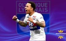 OL : Lyon gagne 12-0 en amical, quadruplé de Depay !
