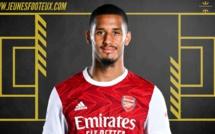 OGC Nice Mercato : William Saliba (Arsenal, ex ASSE) arrive en prêt !
