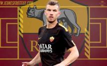 AS Roma : Dzeko désormais prêt à partir !