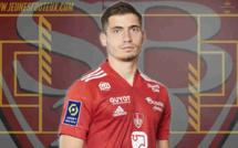 Stade Brestois : Romain Perraud prolonge son contrat