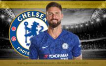 Chelsea rend hommage à Olivier Giroud