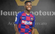 Ansu Fati, nouveau numéro 10 du Barça !