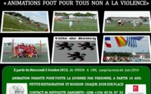 L'étoile sportive Roncquoise organise des animations contre la violence dans le football