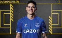 Everton : James Rodriguez vers le Qatar ?