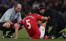 Rio Ferdinand blessé deux semaines