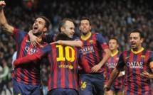 Le Barça prend une option sur les quarts en s'imposant sur la pelouse de City