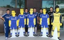 Chelsea : Hazard, Lampard, Cech, Torres, Terry en mode Simpson