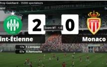 Saint-Etienne bat Monaco et reste dans la course à l'europe !
