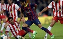 Le Barça se rassure en s'imposant facilement face à Almeria (4-1)