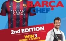Fabregas se prépare pour TopChef