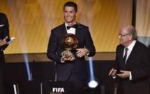 Cristiano Ronaldo sacré Ballon d'or