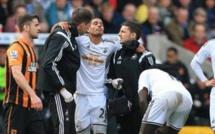 Swansea : Kyle Naughton out jusqu'à la fin de la saison