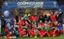 Le Paris Saint-Germain remporte la coupe de la Ligue