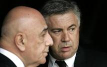 Milan AC : 120 millions d'euros pour convaincre Ancelotti ?